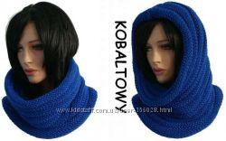 Стильный и модный шапка-шарф. Труба. Снуд