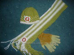 Комплект шапка и шарф 51-54
