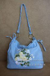Джинсовые и текстильные сумки ручной работы