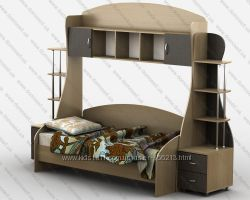 Модульная детская подростковая мебель Тиса