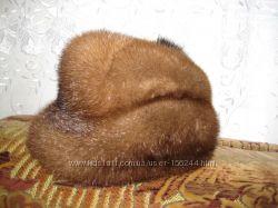 Норковая шапка 58 р. для солидных дам
