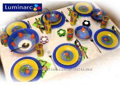 Столовый сервиз LUMINARC MELYS AZUR 06173 на 6 персон 25 единиц