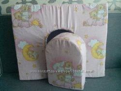 Подушка для кормления двойни . Подарок для малышей