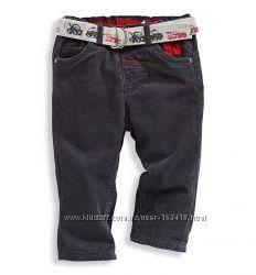 Модные, утеплённые штанишки на мальчика из серии Тачки