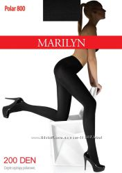 Теплые колготы и лосины на плюше, шерсти и махре Marilyn - 200-250den