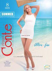 Летние колготки с охлаждающим эффектом Conte, Marilyn, Omsa, Giulia 8 den