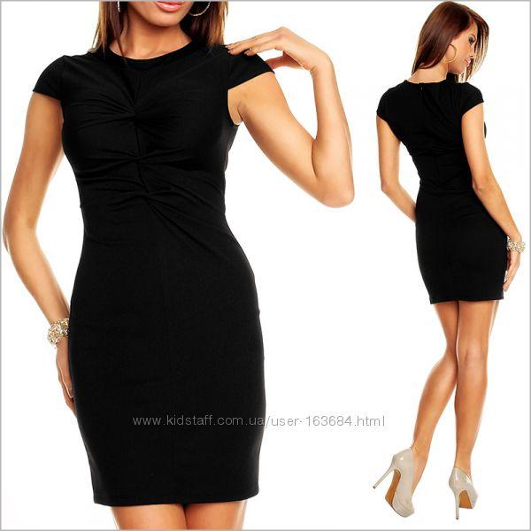 Купить Деловое Черное Платье