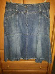 Джинсовые юбочки р. 48-50
