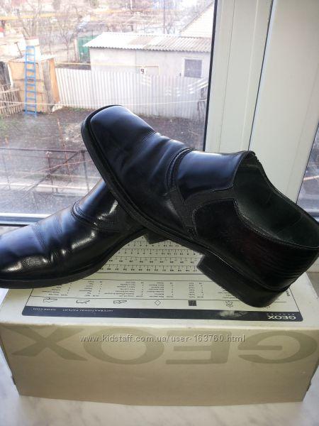 туфли кожаные италия р. 41 стелька 27-27, 5