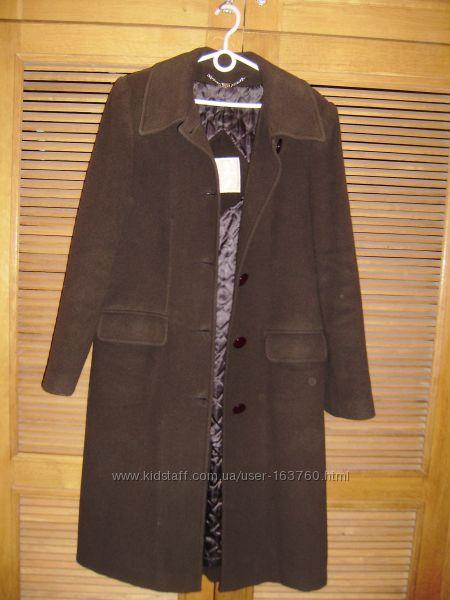 Отличное утепленное кашемировое пальто