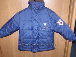 Теплая курточка на мальчика от 6мес-1года