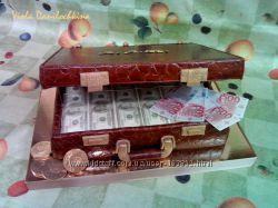 Торт Дипломат с долларами, Киев, Соломенка.