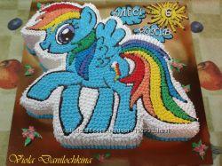 Торт Пони-радуга, Рейнбоу Деш, My Little Pony, Киев-Соломенка