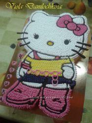 Торт Хелло Китти, Hello Kitty , кошка Мери, Киев-Соломенка