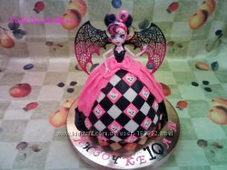 торт Монстер Хай, Monster High на заказ Киев, Соломенка