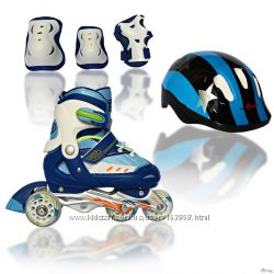 Ролики Amigo Sport Cosmo Set комплект ролики защита шлем