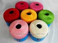 Продаю 100-процентный  хлопок для ручного вязания