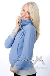 Флисовые толстовки для беременных и кормящих мам - разные цвета - новинки