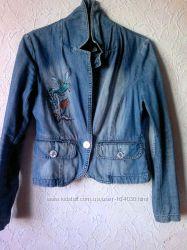 Джинсовый пиджак junker