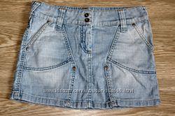 Юбки джинсовые, оч дешево