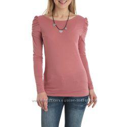 Кофточки-футболки с длинным рукавом