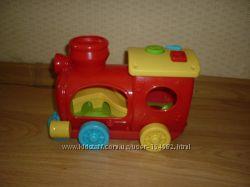 Веселый паровозик с треком и шариком Симба