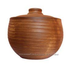Молоченая глиняная посуда