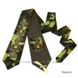 Краватка з вишивкою Будимир