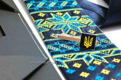 Эксклюзивные дизайнерские галстуки в этно стиле