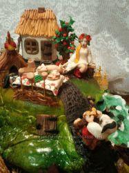 Сахарные, вафельные украшения для торта и десерта Подарите радость близким