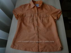 Рубашка Сolumbia р. S лен оригинал