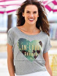Модные стильные футболки Victorias secret, разные модели и размеры, оригинал