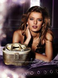 Красивейший золотистый кейс для косметики Victorias secret, оригинал