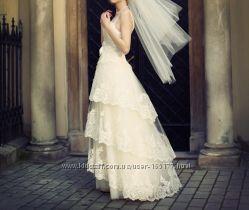 Свадебное платье. Разм. XS-S 34-36.