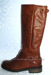 кожаные  сапоги   ZIGN р. 37