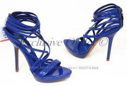 ZARA оригинал синие босоножки р. 37, 39 распродажа