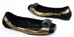 STEFANEL кожаные туфли-балетки  р. 36