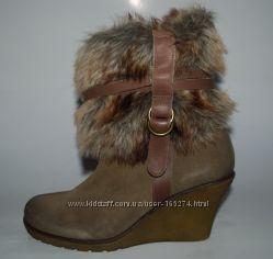 ALDO замшевые ботинки р. 38