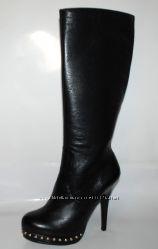 BUFFALO  кожаные высокие  сапоги р. 37  Бразилия