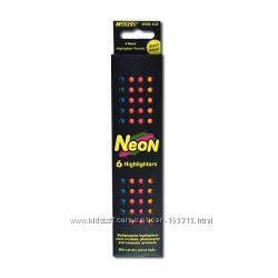 Флюоресцентные карандаши 6 цветов