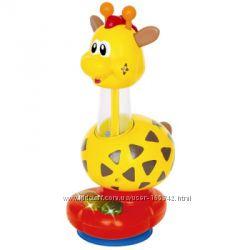 Погремушка - Жираф свет, звук