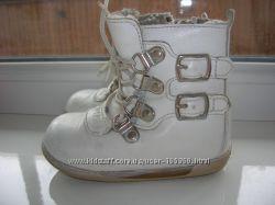 зимние ортопедические, кожаные ботиночки ORTOPEDIA