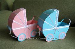Свадебные колясочки для конкурса мальчик-девочка . для сбора денег