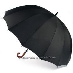 Бесплатная доставка. Президентский Зонт трость англ. фирмы Zest 16 спиц
