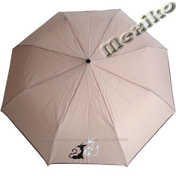 Зонт AIRTON механика однотонный с рисунком на одном клине. Цена 250-275 грн