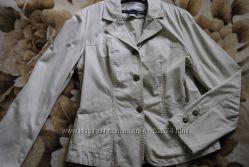 Котоновый пиджак, 44-46 размер, состояние нового