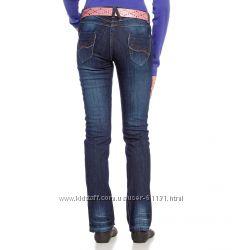 Темно-синие джинсы р. 146 HereThere C&A