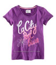 Летняя футболка хлопковая р. 134-140 H&M L. O. G. G.