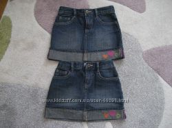 Продам наши джинсовые юбки  Crazy8 Размер 6 осталась 1 шт