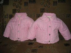 Красивенные стеганные пиджаки Trussardi на принцесс двойняшек